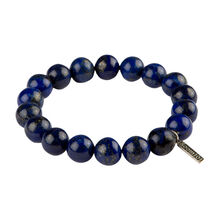 Stainless Beads Lapis 10MM Bracelet, , jrcigars