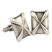 Stainless Pinnacle Cufflinks, , jrcigars