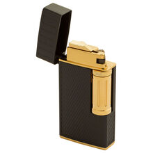 Julius Classic Black and Gold Flint Lighter, , jrcigars