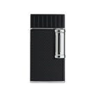 Julius Classic Black and Chrome Flint Lighter, , jrcigars