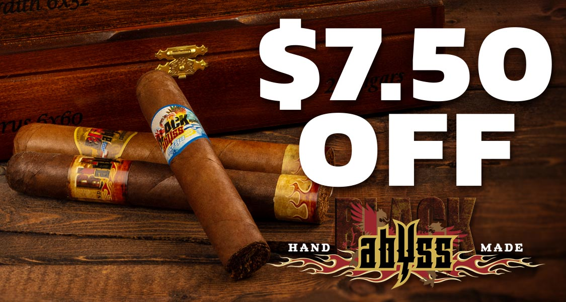 $7.50 Off Black Abyss