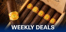 New money-saving cigar deals each week!